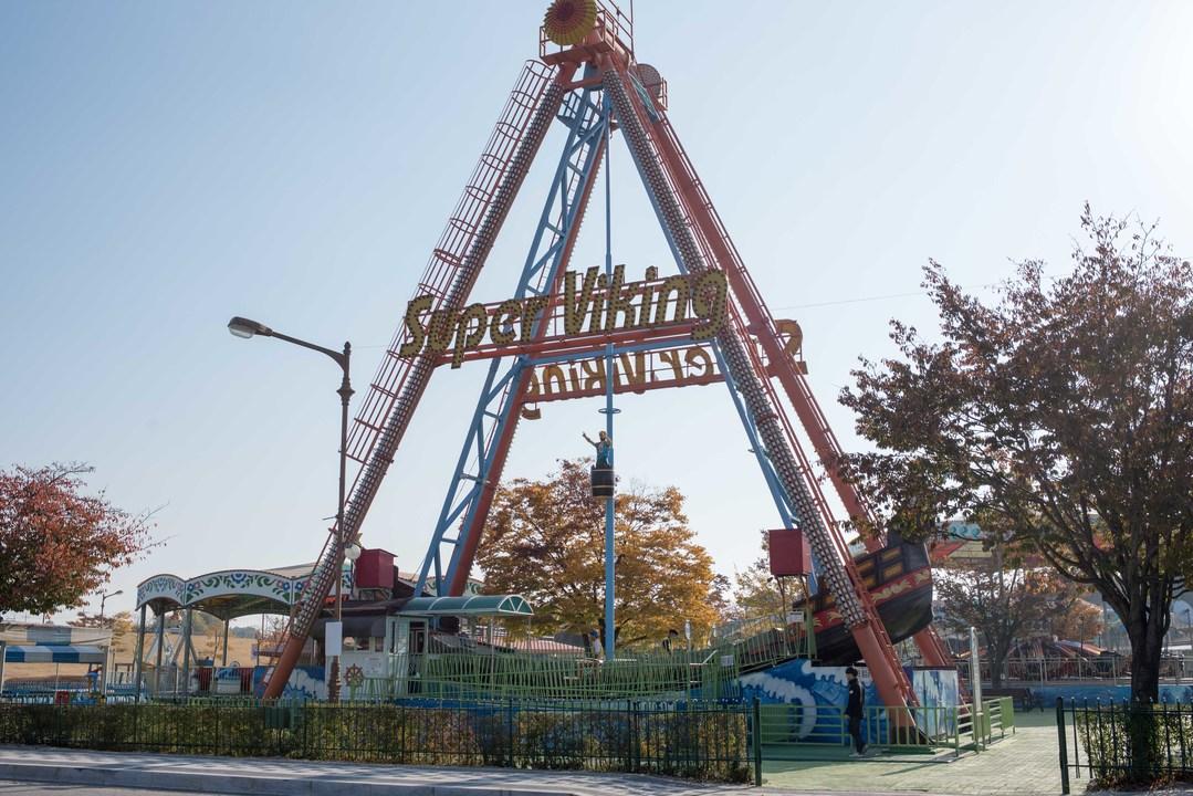 臨津閣の遊園地
