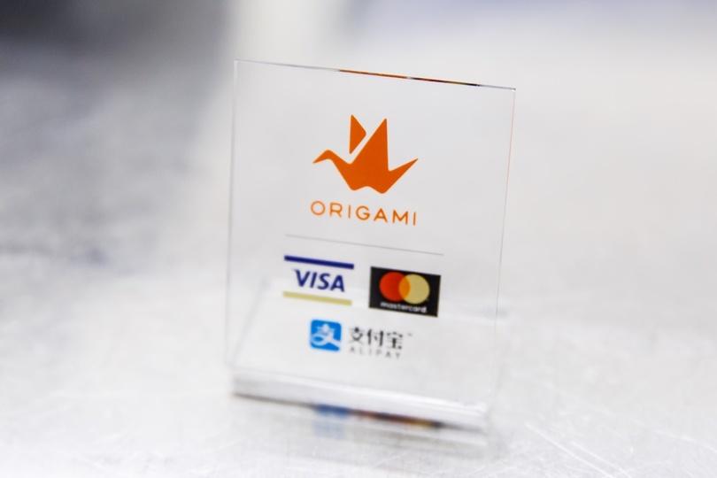 Origamiの決済ロゴ