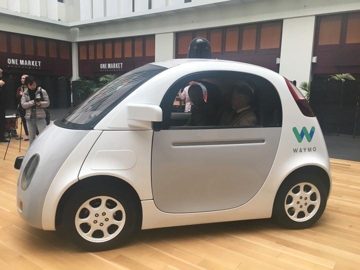 Waymo自動車