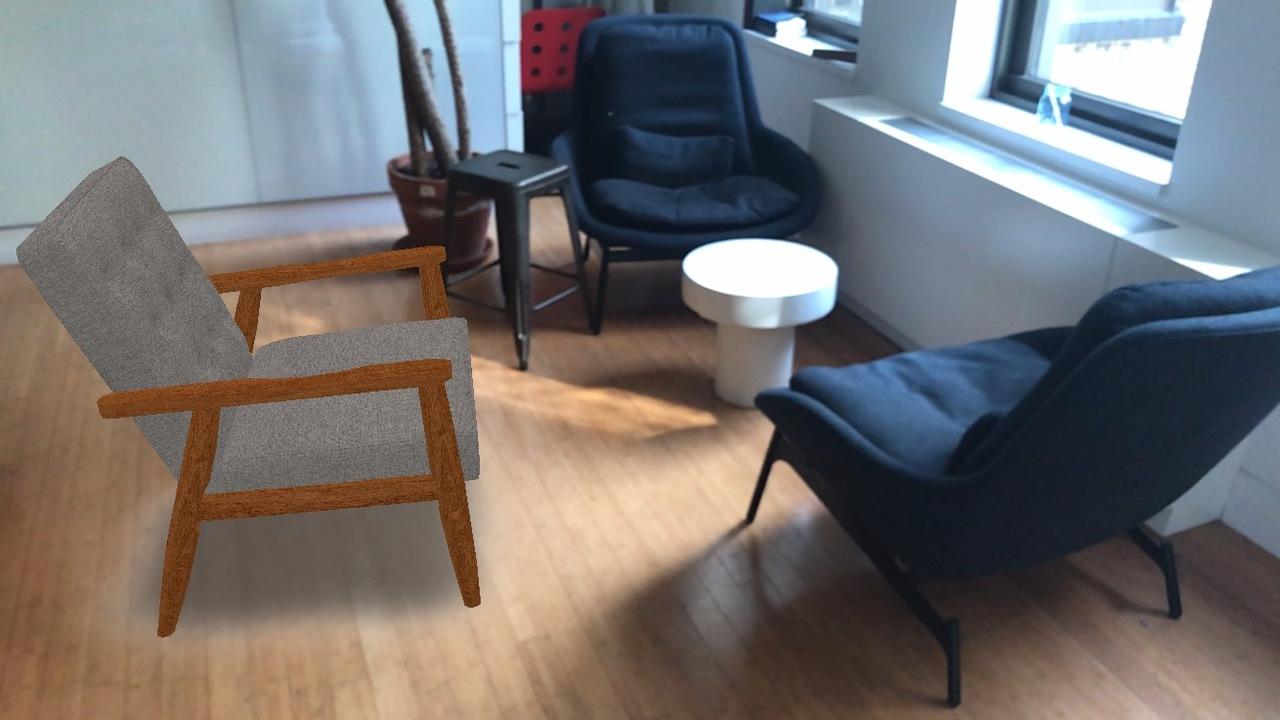 購入前の家具をarで試せるアマゾンの新機能が、オンラインショッピングを