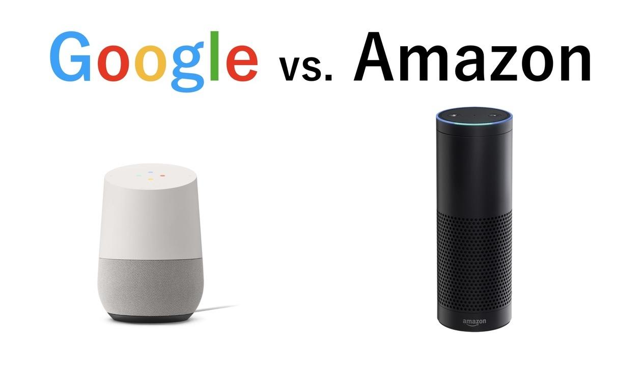 グーグルホームとアマゾンエコー