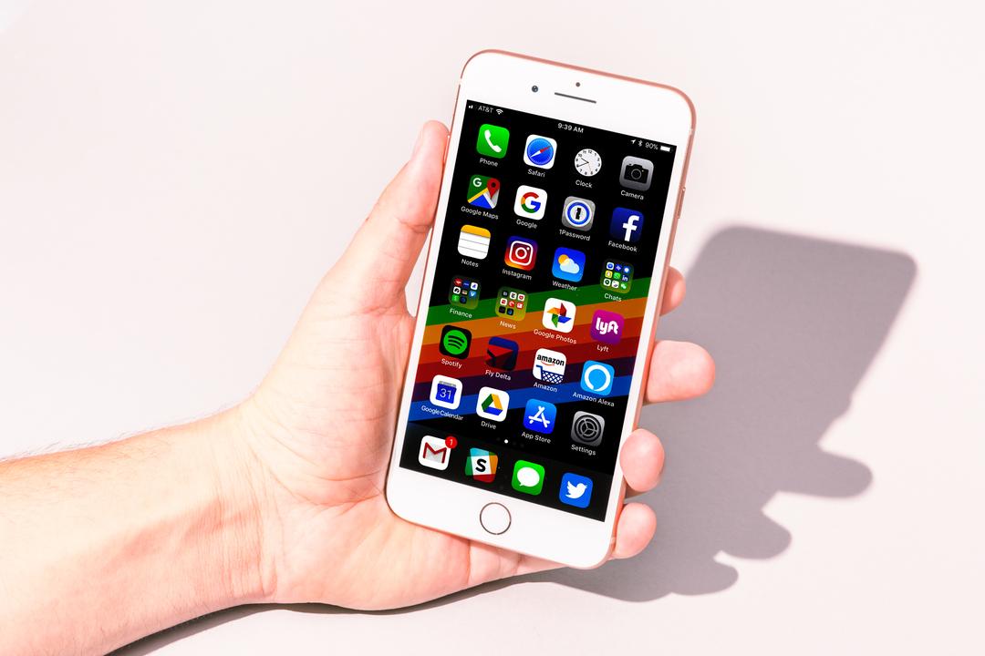 ホームボタンがあるiPhone 8