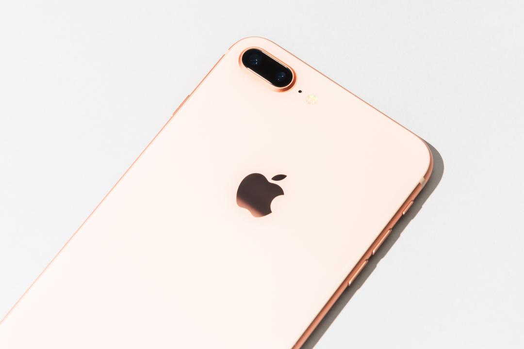 iPhone 8のリアカメラ