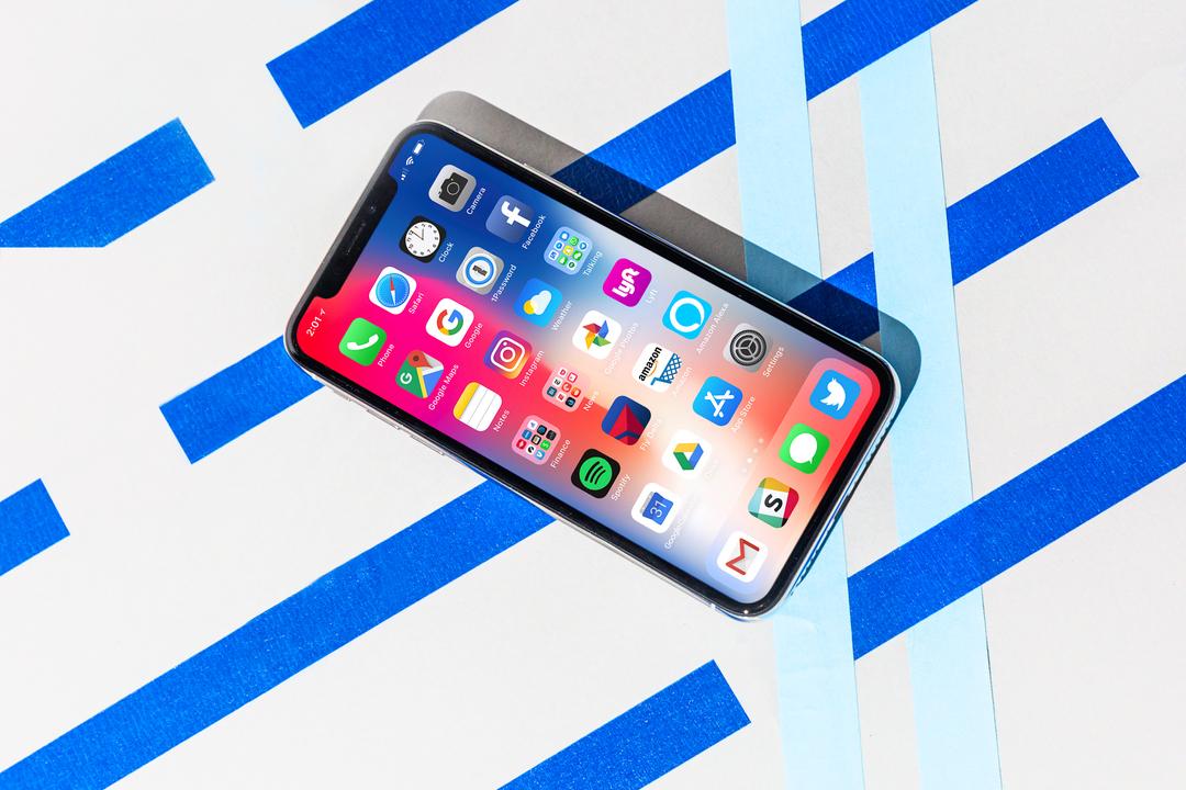 iPhone Xの有機ELディスプレイ