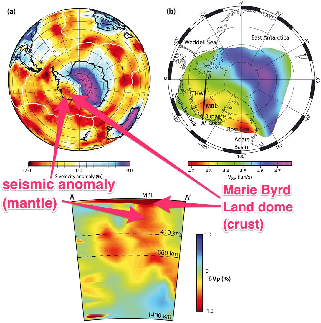 地震探査測定の結果