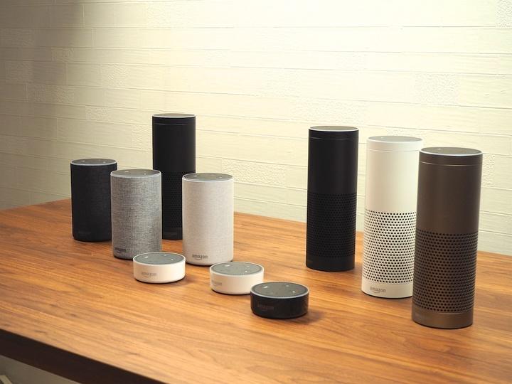 Amazon Echoのカラバリ