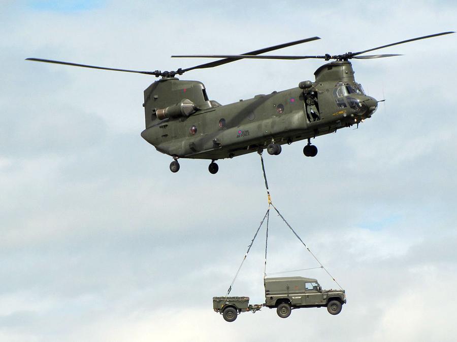 CH-47 チヌークヘリコプター
