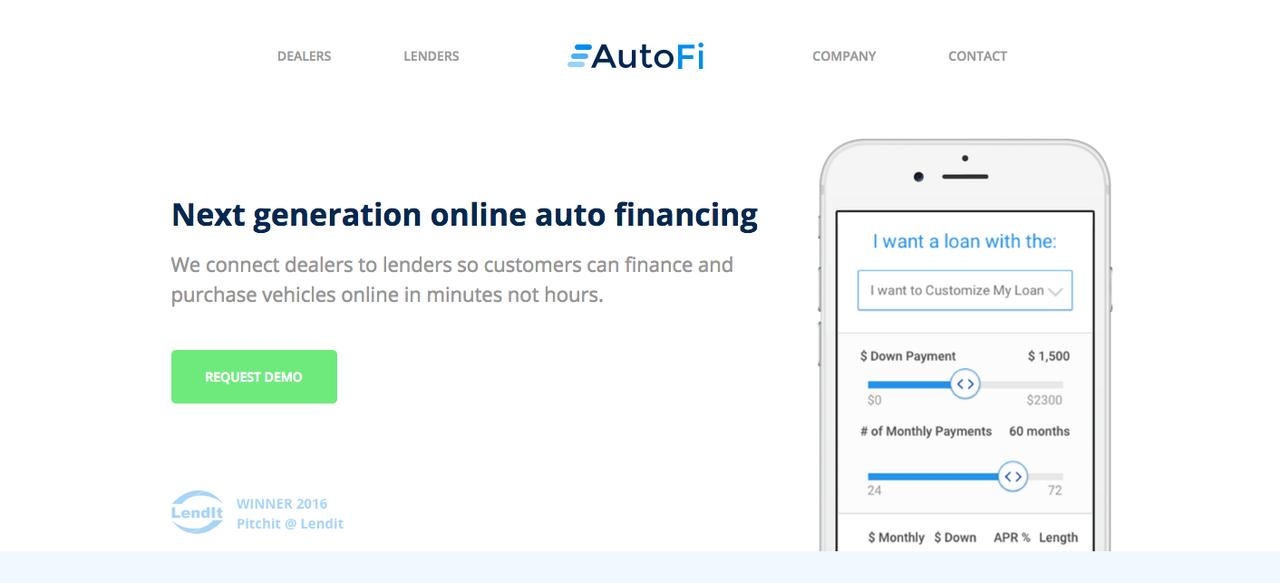 オートファイ(AutoFi)のアプリ