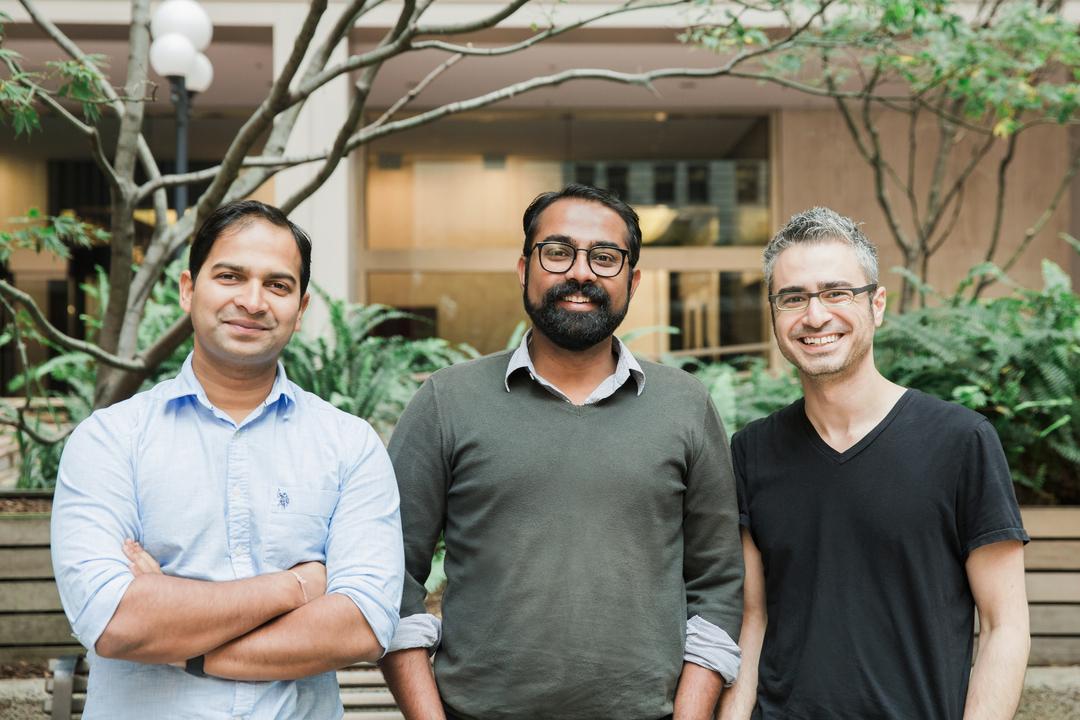 スポーク(Spoke)の共同創業者、ジェイ・スリニバサン、プラタイアス・パトナイク、デイビッド・カネダ。