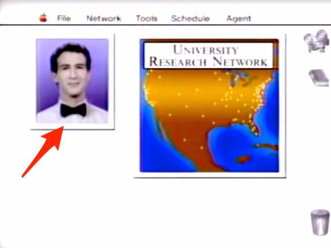 ナレッジナビゲーターの画面