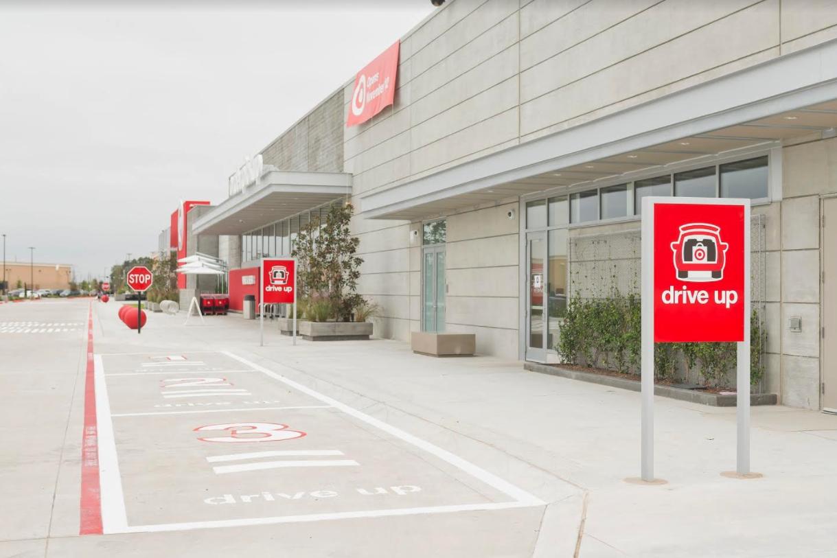 オンライン注文の客用の駐車スペース