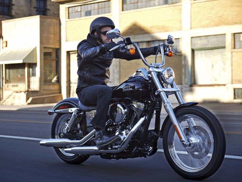 ハーレーダビッドソンのモーターバイク
