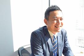 田中さんのインタビュー写真