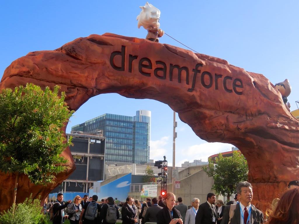 Dreamforce2017のゲート
