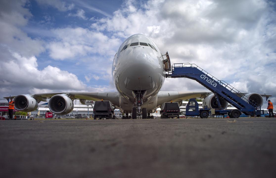 A380の前景