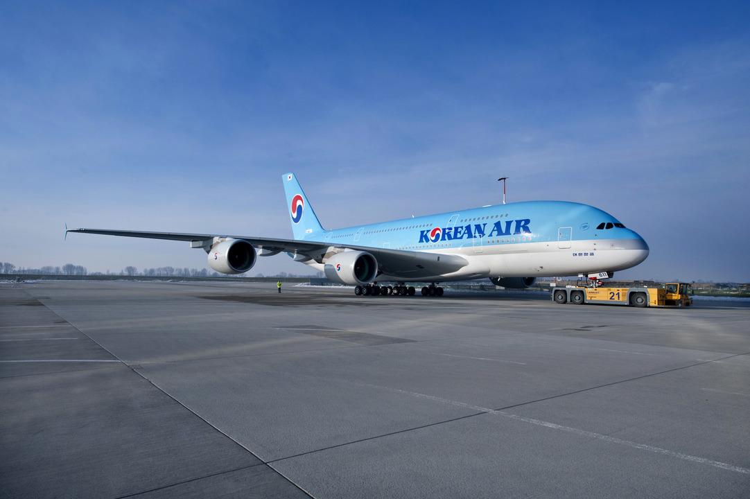 大韓航空のA380