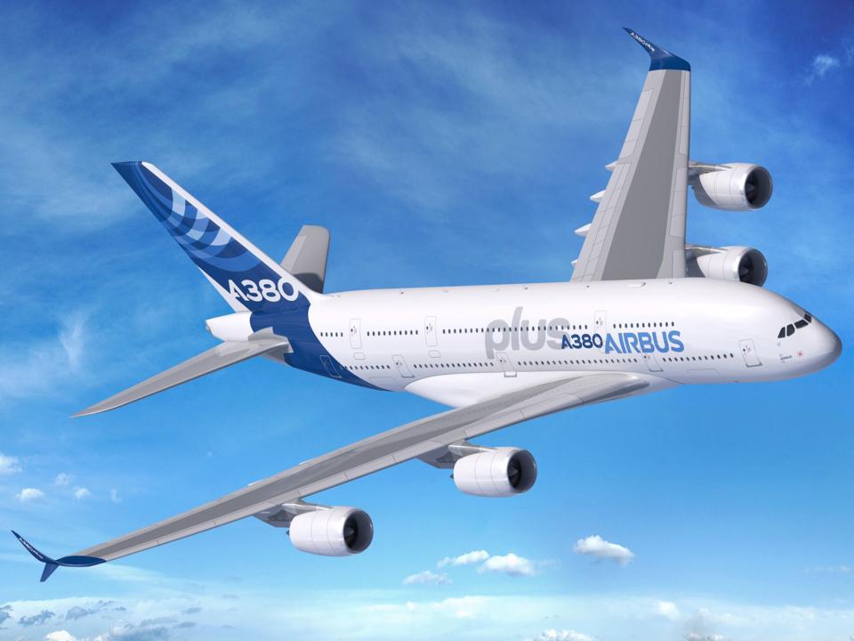 A380neoの完成予想図