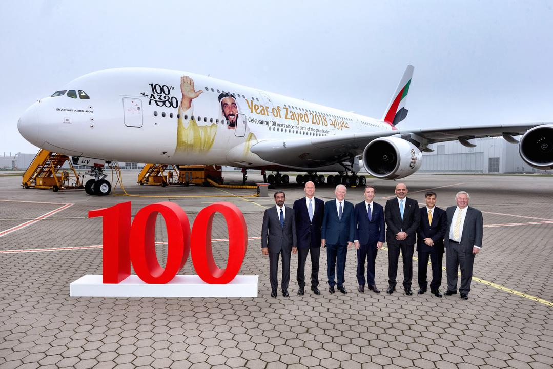 100機目のA380