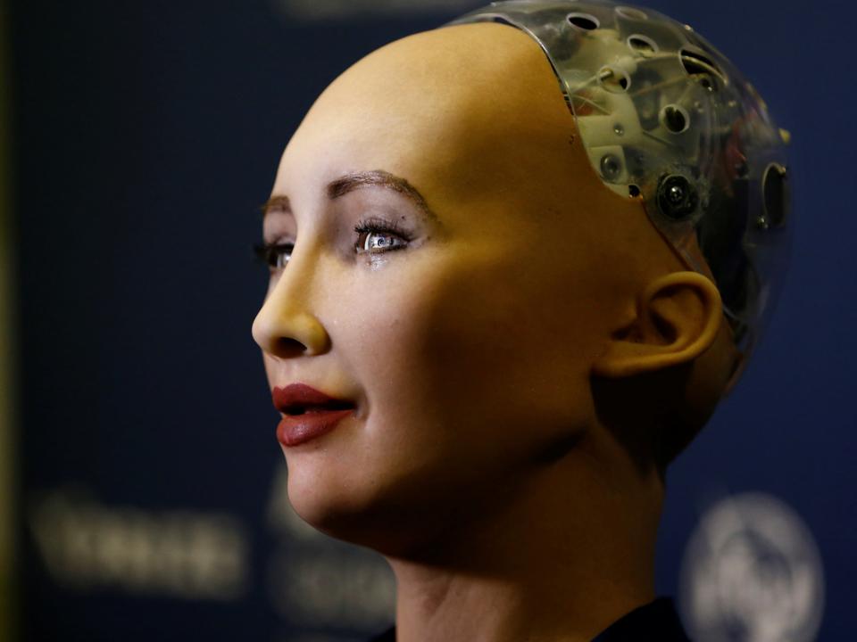 ロボットのソフィア