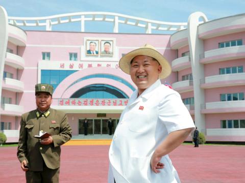写真で見る、北朝鮮のこだわりがつまった建造物の数々