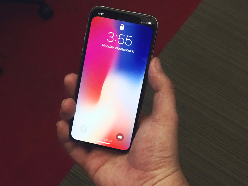 iPhone X、ゲットだぜ!