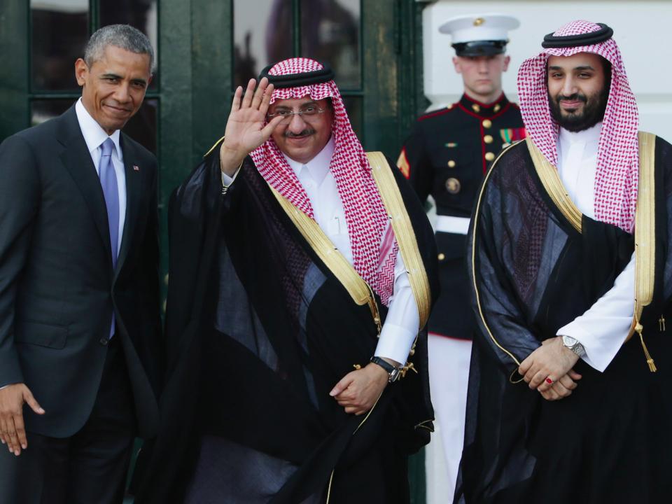オバマ大統領とムハンマド皇太子