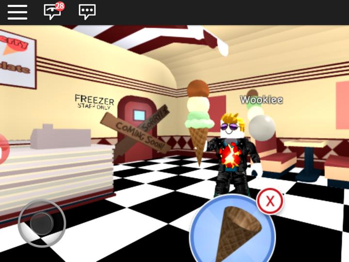 ロブロックス(Roblox)のプレイ画面