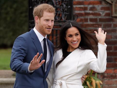ヘンリー王子とその婚約者メーガン・マークルさん