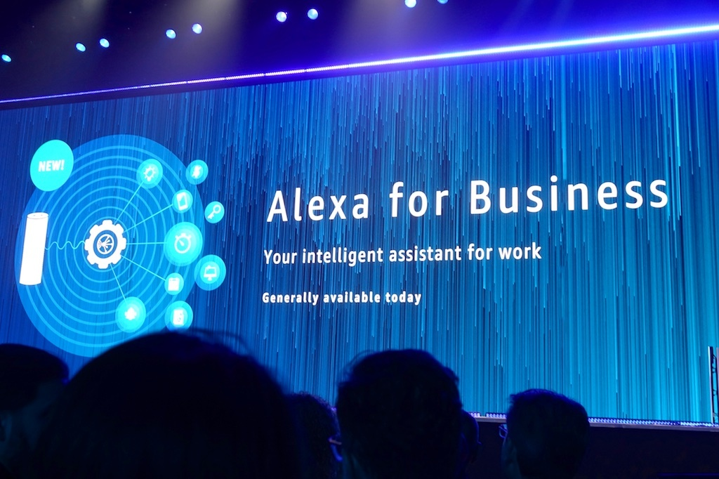Alexa for Business発表の瞬間