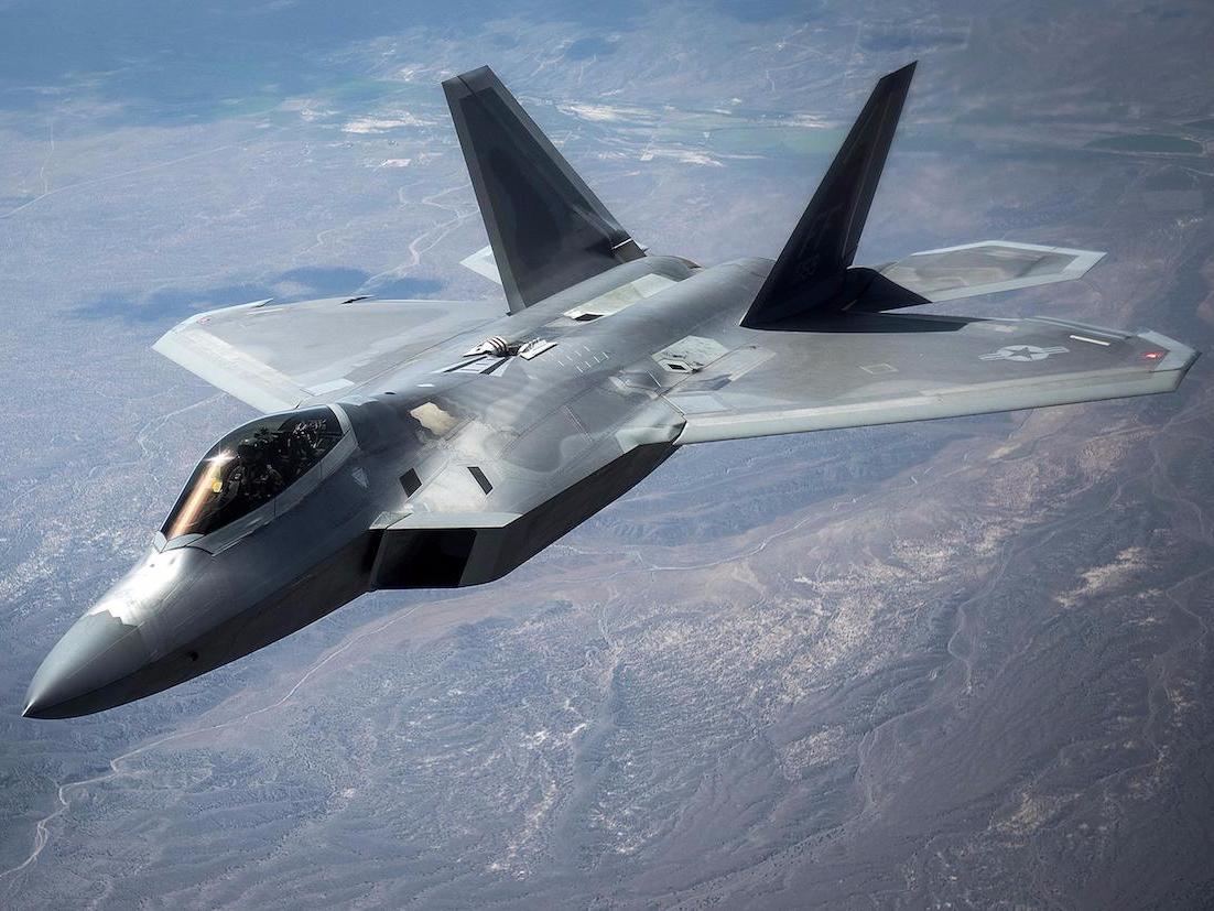 米空軍のF-22戦闘機
