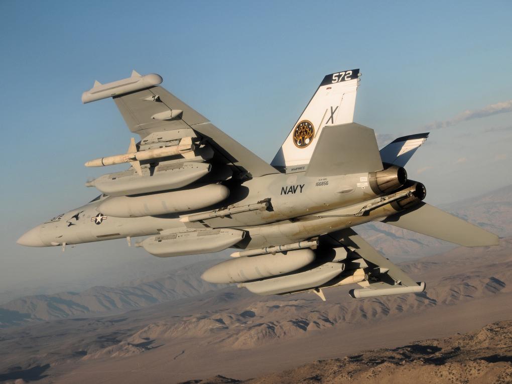 EA-18Gが6機