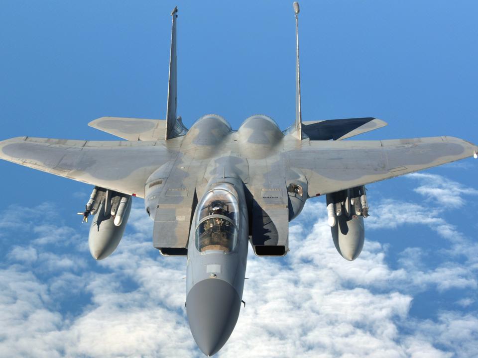 F-15Cが多数