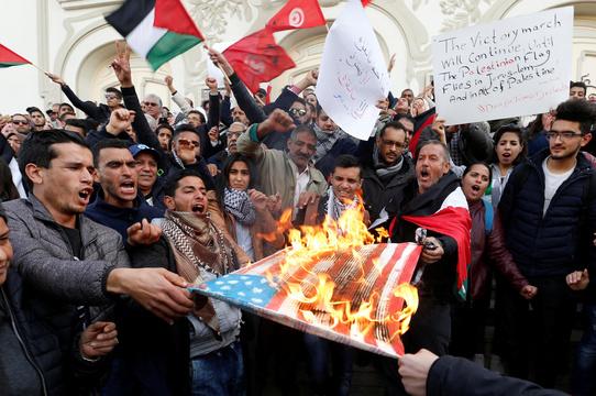 写真で見る! アメリカ大使館のエルサレム移転で、世界各地に広がる抗議デモ