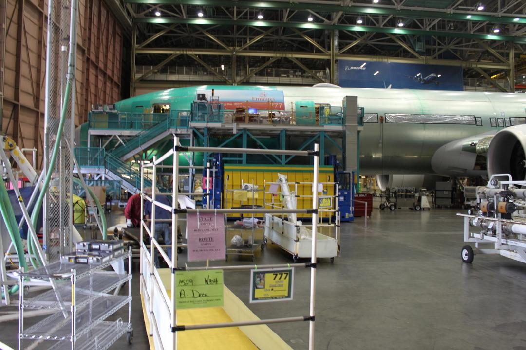 エミレーツ航空向けのボーイング777