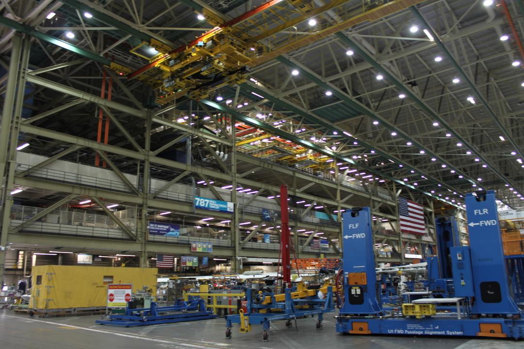 広大な工場
