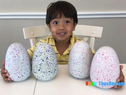おもちゃのレビューで年間12億円! 今、話題のYouTuberは6歳の男の子