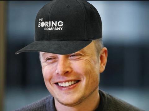 イーロン・マスク、トンネル会社の帽子を販売、すでに売上8000万円