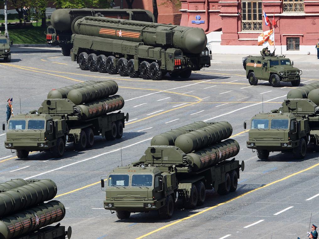 ロシアの軍事パレード