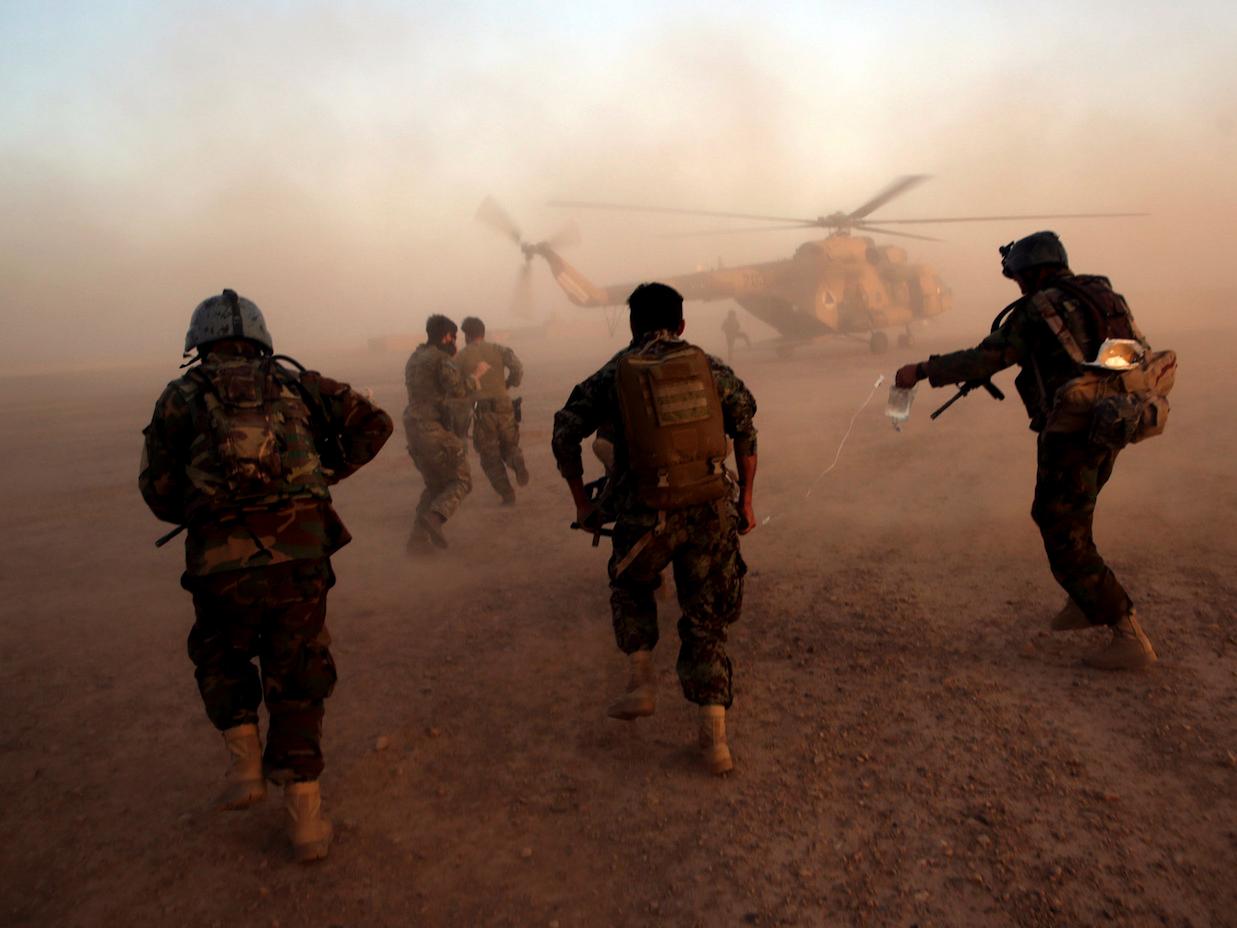 アフガニスタンの特殊部隊