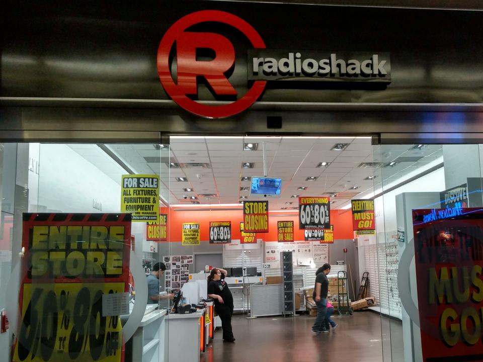 ラジオシャック店舗
