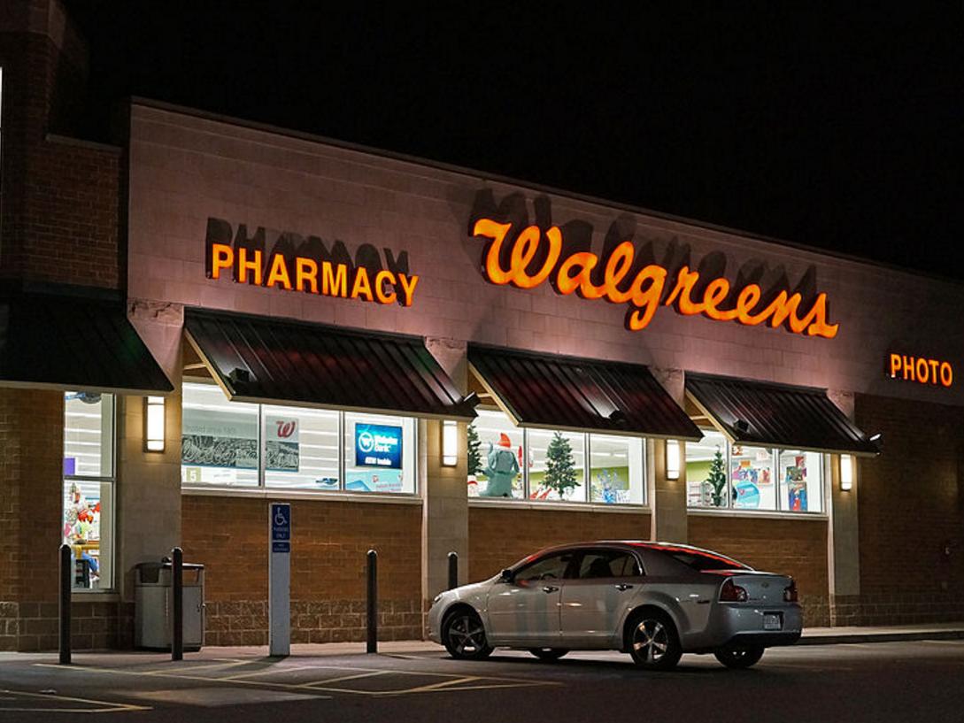 ウォルグリーン店舗