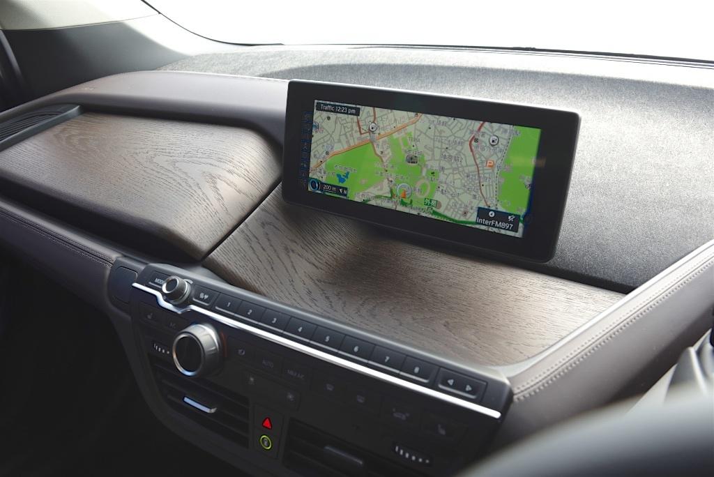 BMW i3のインパネ