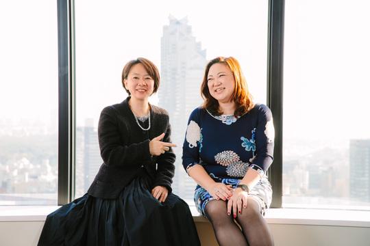 岡島悦子、篠田真貴子