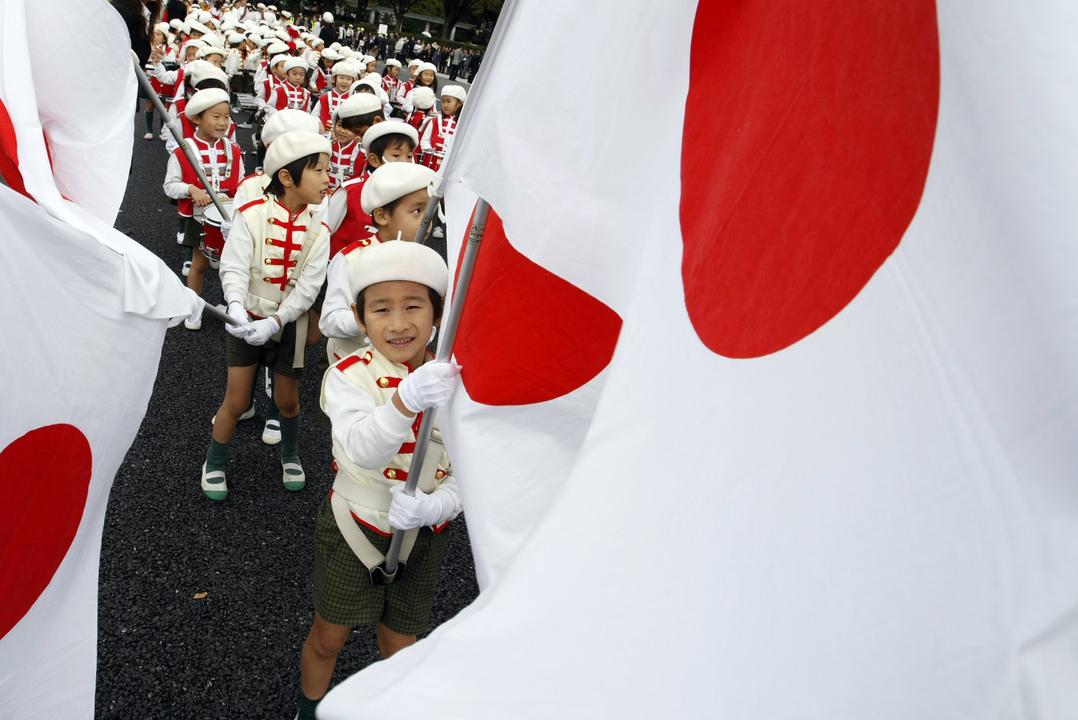 日本の子供達