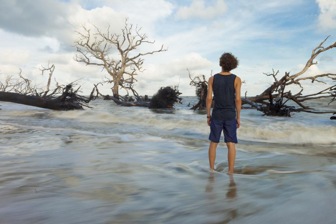 海面上昇後の世界