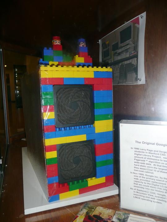 レゴでできたサーバー