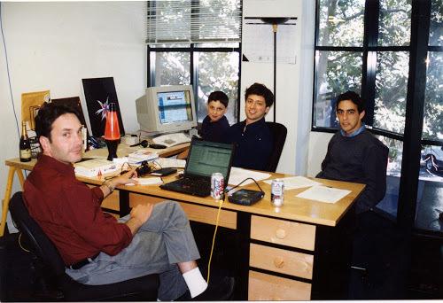 グーグルの初オフィス