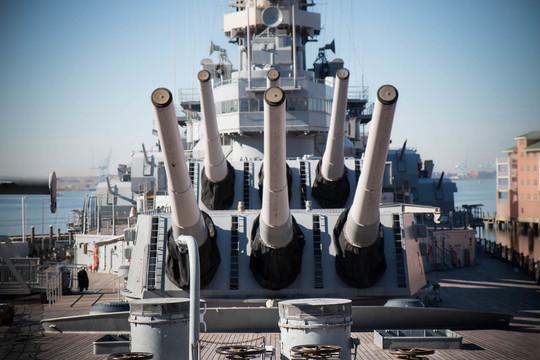 アメリカ最後の戦艦ウィスコンシンに乗ってみた