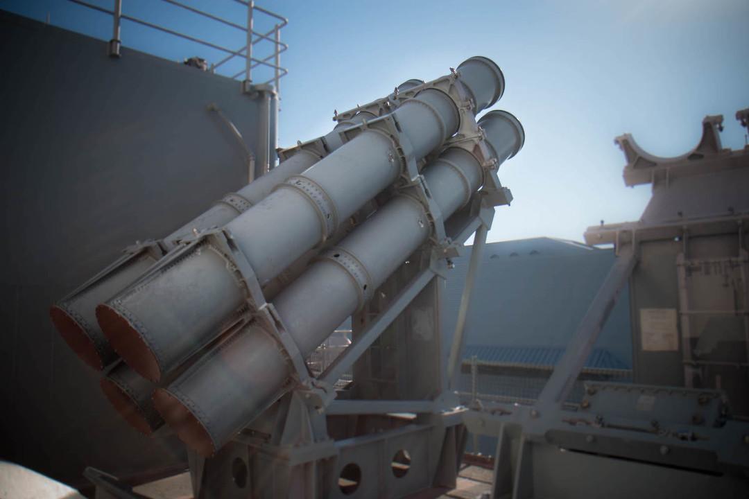 ハープーンミサイル。