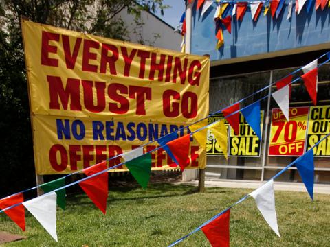 すでに3600店舗以上が! 2018年も続く、アメリカの「小売業の崩壊」